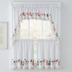 Floral Trellis Valance,