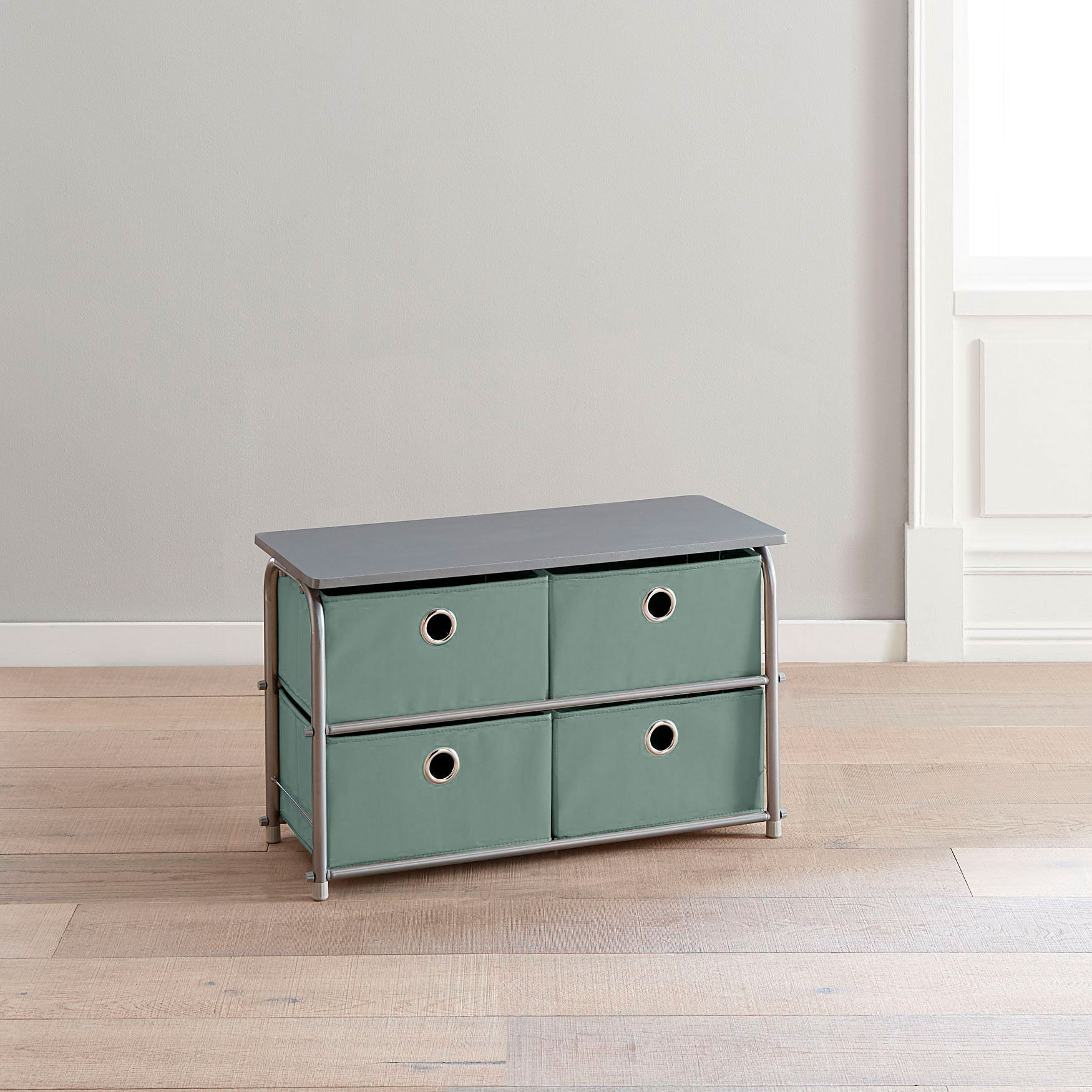 Eve 4 Drawer Soft Storage Cart