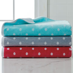 BH STUDIO® Polka Dot Oversized Cotton Bath Sheet,