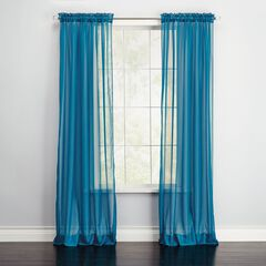 BH Studio® Sheer Voile Rod-Pocket Panel,
