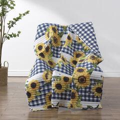 Sunflower Gold Throw Blanket,