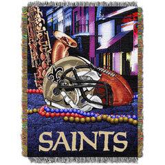 Saints Home Field Advantage Throw,