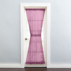 BH Studio Sheer Voile Door Panel With Tiebacks, ORCHID