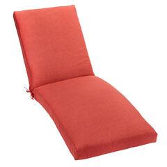 """84"""" Chaise Cushion, GERANIUM"""