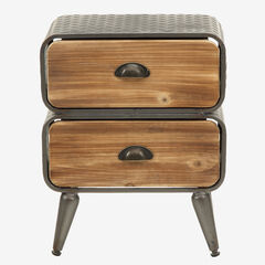 Urban Loft 2 Rounded Drawer Chest,