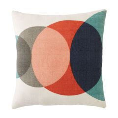 Bubbly Woven Decorative Pillow,