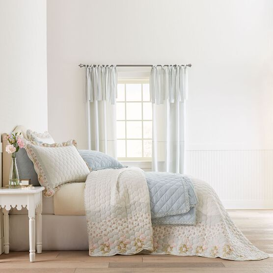 Clara Honeycomb Quilted Bedspread,