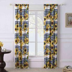Sunflower Gold Curtain Panel Pair,