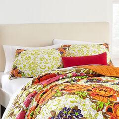 Priya Floral Print Sham,