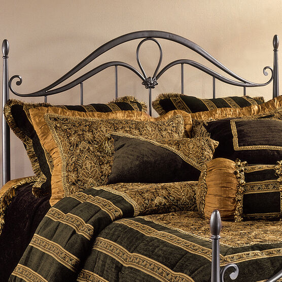 "Full/Queen Headboard with Headboard Frame, 71½""Lx62""Wx56""H, BRONZE"