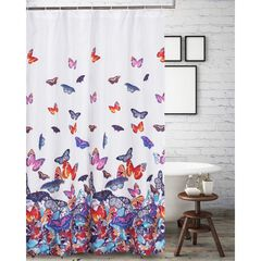 Mariposa Shower Curtain by Barefoot Bungalow,