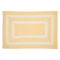 "La Playa Reversible 30""W x 48""L Double-Bordered Mat ,"