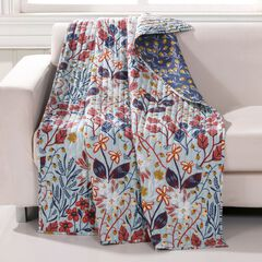 Barefoot Bungalow Perry Quilted Throw Blanket,