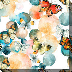 Butterfly Bubble Wall Art,