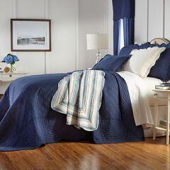 Florence Oversized Bedspread, NAVY