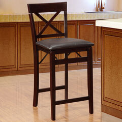 Triena X Back Folding Counter Stool,