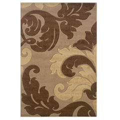 Corfu Tan 5' x 8' Area Rug,