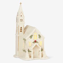 Lenox® Holiday Village Church Light-Up Figurine,