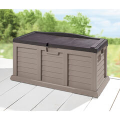 80-Gallon Rolling Deck Box,