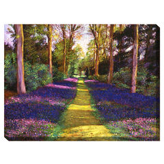 Azalea Park Outdoor Canvas Art,