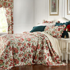 Florence Oversized Bedspread, SPICE FLORAL MULTI