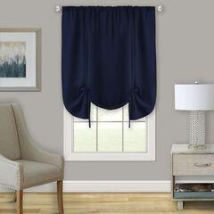 Darcy Window Curtain Tie Up Shade - 58x63,