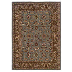 Trio Traditional Light Blue 2'X3' Area Rug,