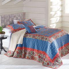 Luna Embroidered Bedspread,