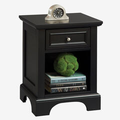 Bedford Black Night Stand,