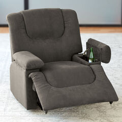 Oversized Storage Arm Recliner,