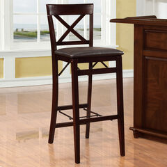 Triena X Back Folding Bar Stool,