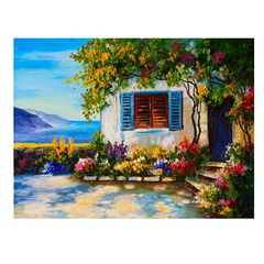 Flourish All-Weather Outdoor Wall Art,
