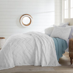 Caleb Chevron Bedspread Collection,
