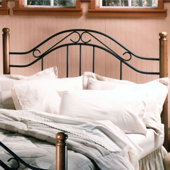 "Twin Headboard with Headboard Frame 63½""Lx40½""Wx50""H, OAK"