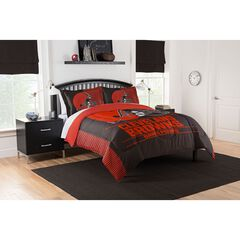 COMFORTER SET DRAFT-BROWNS,