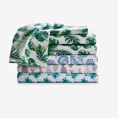 Coastal Printed Microfiber Sheet Set,