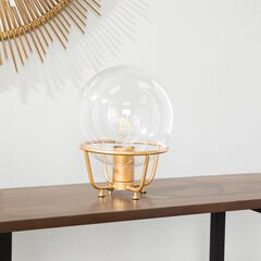Brenton Hand-Blown Glass Table Lamp,
