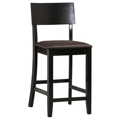"Torino Collection Contemporary Counter Stool, 24""H,"