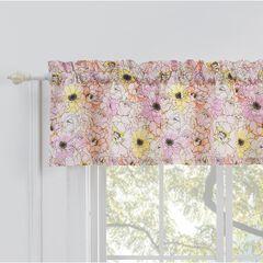 Misty Bloom Window Valance,