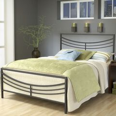 King Bed Set with Bed Frame, 83½'Lx76¾'Wx50'H,