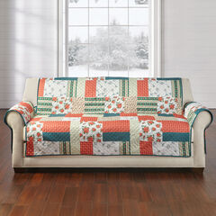Printed Faux Patchwork Protectors Collection,