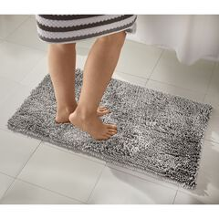 2-Pc. Chenille Noodle Rug Set, SOFT SILVER