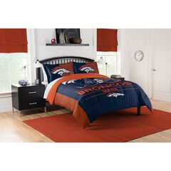 COMFORTER SET DRAFT-BRONCOS,