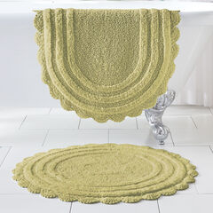 "21"" x 34"" Crochet Bath Mat,"