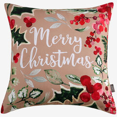 Merry Christmas Decorative Pillow,