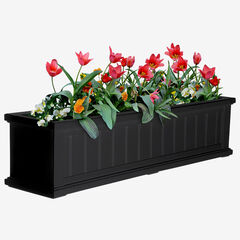 "Cape Cod 4"" Window Box,"