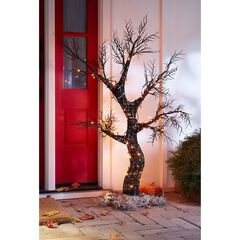 4' Spooky Halloween Tree,