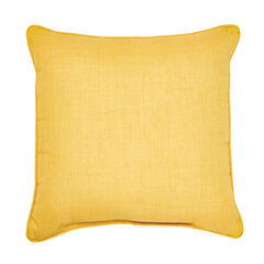 "16"" Sq. Toss Pillow, LEMON"