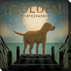 Golden Pond Outdoor Wall Art,