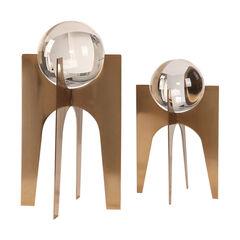 Ellianna Crystal Spheres, Set of 2,
